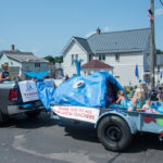 Trinity Lutheran with a clever and relaxing float.