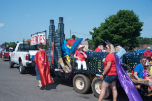 They had the best float in my opinion!
