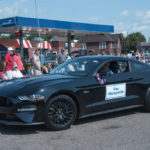 Fox Marquette showed up in a sick Ford Mustang.