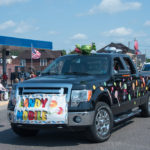 The Candy Mobile! They put some work into this one too.