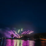 Some new fireworks that the city added. They shot out from either side of the Ore Dock!