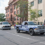 RRN's vehicles during the Marquette Parade.