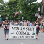 The MGH RN Staff Council had an awesome float.