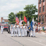 We had many different military groups present including the U.S. Army, Marines, Coast Guard, Navy & National Guard.