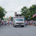 It was so hot, Everyone was wondering if they were really selling ice cream in the middle of the parade.