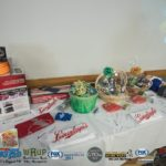 Our door prizes for the Silverado Summer Giveaway Party.