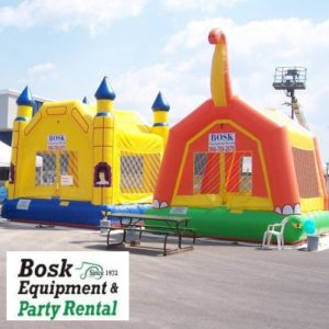Bosk Equipment & Party Rental has exactly what you need to make any party a hit.