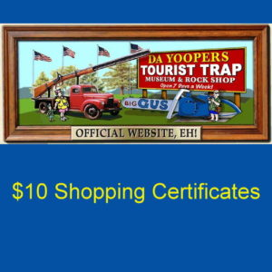 Take the family to Da Yoopers Tourist Trap in Ishpeming!