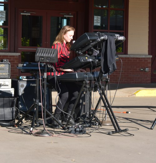Deanna M. DeValve at Marquette Commons for June 24th for Kickoff of 4th Annual Marquette City Art Week