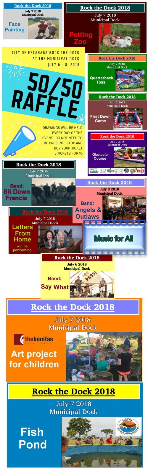 Escanaba Rock the Dock 2018