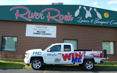 Frei Chevy and Great Lakes Radio Silverado Summer Giveaway at River Rock Lanes and Banquet Center July 19, 2018