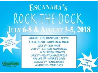 Kim Peterson - Escanaba Rock the Dock 2018 - 8th Day Interview