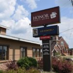 Honor Credit Union in Negaunee loves their Miners!