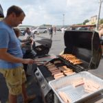 They did a great job grilling up these brats & hot dogs.