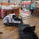 See the snowdog & sled in person at Super One Foods of Marquette.