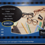 Parents, don't forget to talk to a staff member about the Superior Eye Health Back to School Sale.