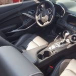 Check out the luxurious interior of this Camaro