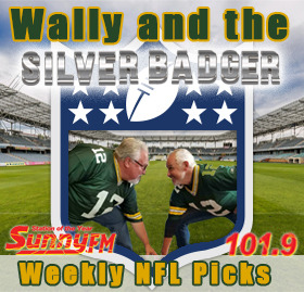 Wally and the Silver Badger Weekly NFL Picks on Sunny.FM
