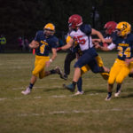 The Miners played some good defense trying to keep Westwood of QB Jason Waterman