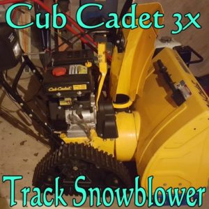 Purchase this Demo Cub Cadet 3X Track Snowblower for 31% off!