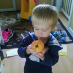 Kelsey's Son Holden, 2 yrs., Eating Healthy, The Sunny Morning Show