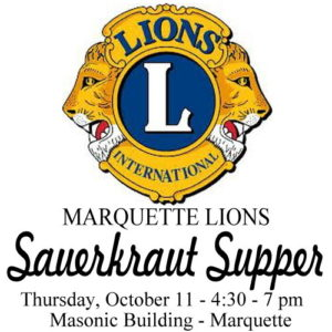 Support your Marquette Lions Club and enjoy a great meal.