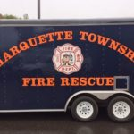 Marquette Township Fire and Rescue put on the open house to kick off Fire Prevention Week
