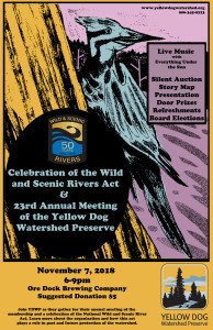Yellow Dog Water Shed Preserve Annual Meeting November 7th