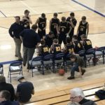 Miners Time Out on Bench