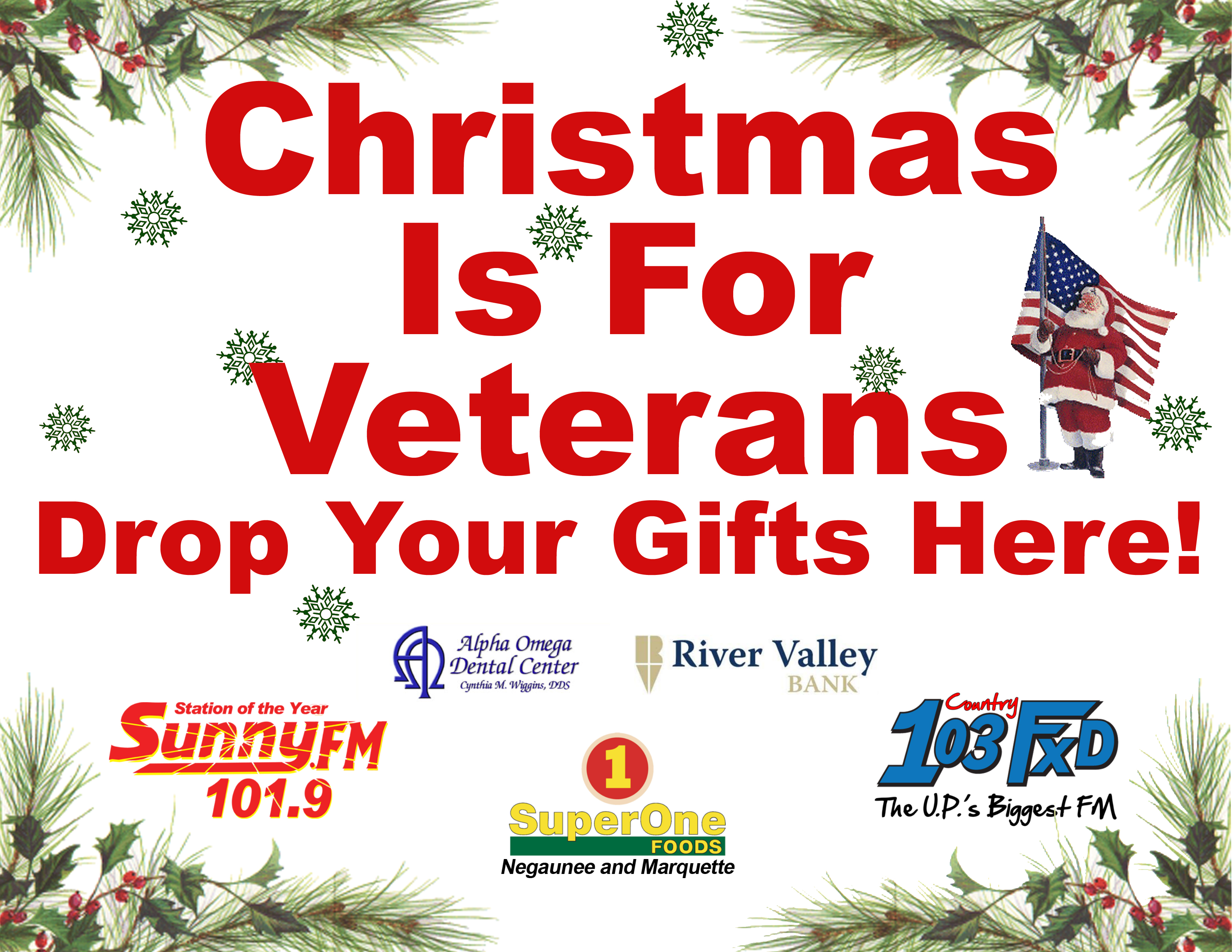Donate an Item Off The Christmas is For Veterans Wish List for Our ...