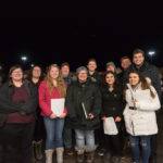 Thanks to the Northern Lights A Cappella Group for coming out to sing with us this evening.