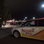 Sunny.FM 101.9 was live throughout the day to talk about the tree lighting ceremony.