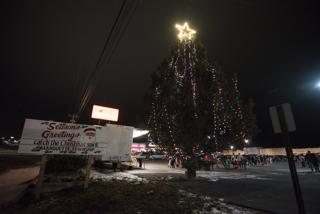 """Thanks for coming out for the """"Catch the Christmas Spirit"""" Tree Lighting Ceremony."""