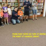 Westend Gearbusters - Taking a Turn at the Carnegie Library