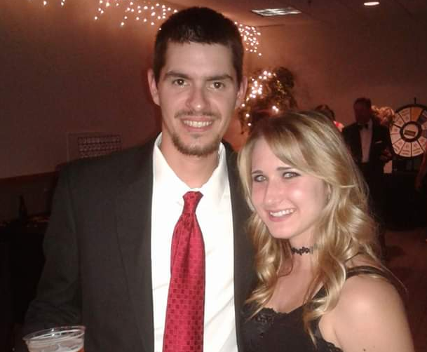Kelsey and her Husband Cody at a Local Event in 2017, The Sunny Morning Show