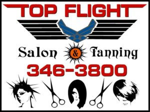 Enjoy an month of unlimited tanning at Top Flight Salon & Tanning.