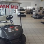 Register to win a new golf cart at Frei Chevy.