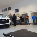 The showroom was busy during this Frei Friday