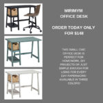 Get a MIRIMYM Office Desk from Ashley HomeStore of Marquette for just $148.