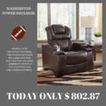 Save over $500 on the perfect game day chair at Ashley Furniture in Marquette.