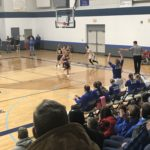 Negaunee down by 10 points during 4th