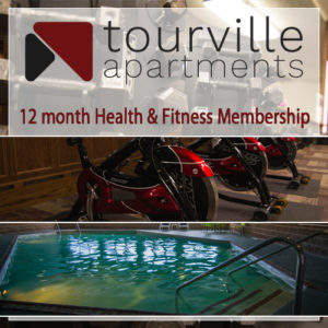 Get a year membership to the Tourville Health & Fitness Club.