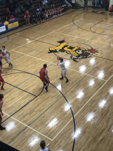 Negaunee battled Westwood on Wednesday night in the District semi-finals.
