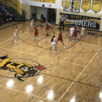 Negaunee controls the ball in their 51-50 loss to Marquette on 101.9 SunnyFM.