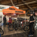 There is a massive selection of bikes throughout the show.