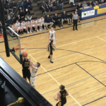 Negaunee and Gwinn battle in the paint.