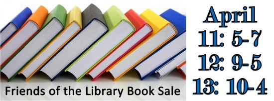 Friends of the Ishpeming Cargegie Library Book Sales April 11-13, 2019