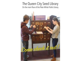Queen City Seed Library (Image Credit - Peter White Public Library)