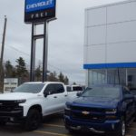 New trucks ready to be sold at Frei Chevrolet