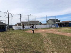 It was a beautiful day for baseball in Negaunee